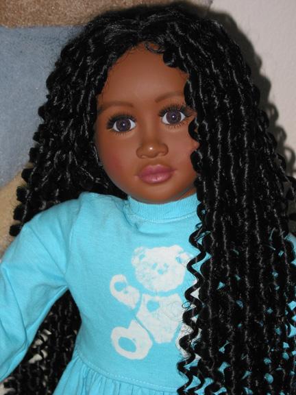 My Twinn Doll Wig 108